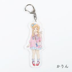PARK CO;RYU Acrylic Keychain Charm Collection