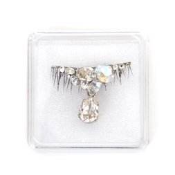 Teardrop Jewel False Eyelash