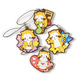 Rascal the Raccoon Cute Rubber Straps