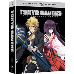 Tokyo Ravens: The Complete Series Blu-ray/DVD Combo Pack