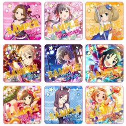 The Idolm@ster Cinderella Girls Acrylic Badge Collection Box Set