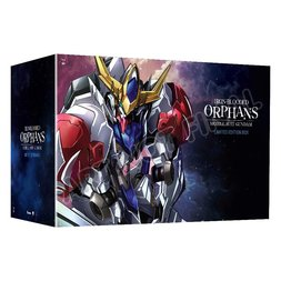 Mobile Suit Gundam: Iron-Blooded Orphans Season 2 Limited Edition Blu-ray/DVD Combo Pack