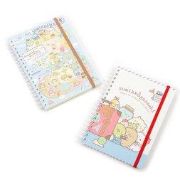 Sumikko Gurashi Oheya no Sumi de Tabikibun B6 Spiral Notebooks
