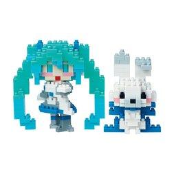 Nanoblock Snow Miku & Rabbit Yukine