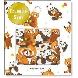 Favorite Seal Panda Friends Stickers