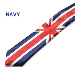 ACDC RAG Union Jack Necktie