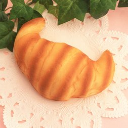 Mother Garden Wild Strawberry Soft Croissant Squeeze Toy