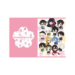 Kagerou Project Sakura Ver. A4 Clear File Collection