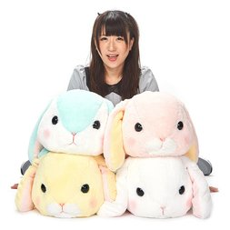 Pote Usa Loppy Napping Weather Vol. 2 Rabbit Plush Collection (Big)