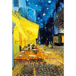 Night Cafe Terrace Jigsaw Puzzle