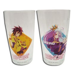 No Game No Life Drinking Glass Set 1