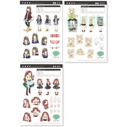 PARK Original Character Stickers
