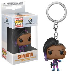 Pocket Pop! Keychain: Overwatch - Sombra