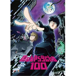 Mob Psycho 100 Key Art 1 Premium Wall Scroll