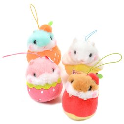 Coroham Coron Fruits Vol. 2 Hamster Plush Collection (Mini Strap)