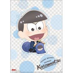 Osomatsu-san Knitting Wool Karamatsu Clear File