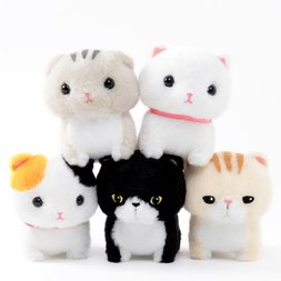 Chinmari Munchkin Cat Plush Collection (Ball Chain)