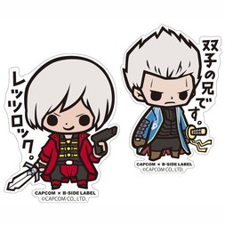 Capcom x B-Side Label Devil May Cry Stickers