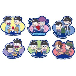 Rubber Mascot Buddy Colle Osomatsu-san We Are Brothers Trading Straps