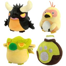 Monster Hunter Mochi Cute Cushion Collection Vol. 2