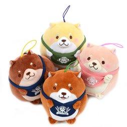 Chuken Mochi Shiba Mochi Mochi Chibi Mini Strap Plush Collection