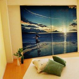 Amemura Illustrated Curtains
