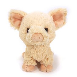 Fluffies Small Pig Plush