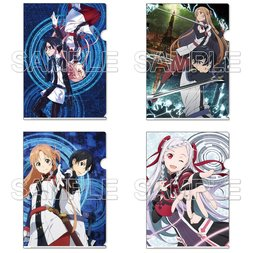 Sword Art Online the Movie: Ordinal Scale Clear Files
