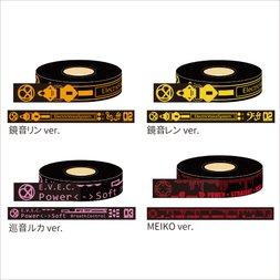 Hatsune Miku Summer Festival Masking Tape: Black Ver.