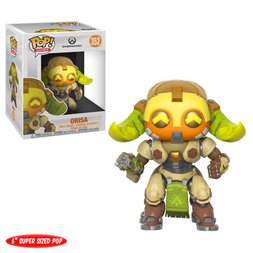"Pop! Games: Overwatch Series 4 - 6"" Orisa"