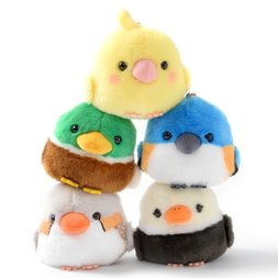 Kotori Tai Waku Waku Bird Plush Collection (Ball Chain)