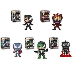 Pop! Marvel Venom Series - Complete Set