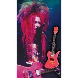 hide Guitar Collection Official Figure Set: SHOCKING PINK Ver.