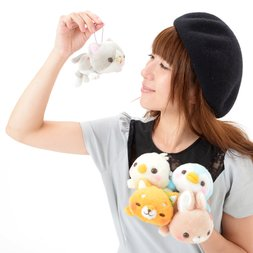 Itsudemo Daramofu-san Plush Collection (Ball Chain)