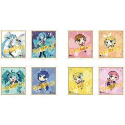 Vocaloid Mini Shikishi Board Collection Box Set