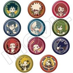 My Hero Academia Hero Ver. Character Pin Badge Collection Box Set