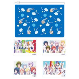 IDOLiSH 7 Vibrato Sorairo-kun Slider Pouch & Bromide Photo Set