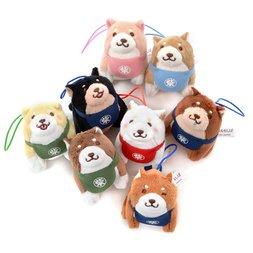 Chuken Mochi Shiba Standing Plush Collection Vol. 3 (Mini Strap)