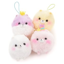 Fuwa-mofu Pometan Yumekawa Dog Plush Collection (Mini Strap)