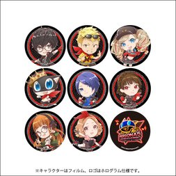 Persona 5: Dancing in Starlight Chibi Trading Pin Badge Collection