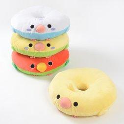 Kotori Tai Dodeka Bird Donut Cushions