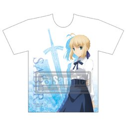 Fate/stay night: Heaven's Feel Saber Graphic T-Shirt