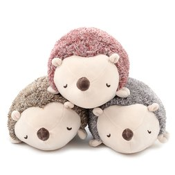 Marshmallow Animal Hedgehog Bolster