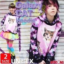 ACDC RAG Galaxy Cat Hoodie