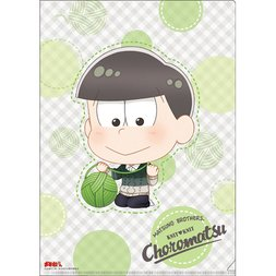 Osomatsu-san Knitting Wool Choromatsu Clear File