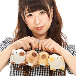 Chibikko Uribon Wild Boar Plush Collection (Ball Chain)
