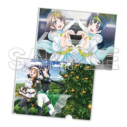 Love Live! Sunshine!! Twilight Tiger & Unicorn Blizzard Clear File Set