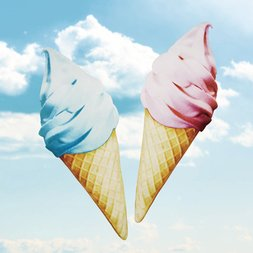 Fans Soft-Serve Ice Cream Cushion