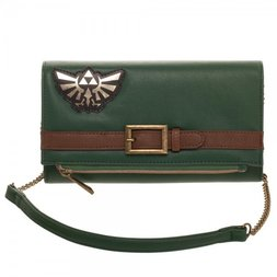 Legend of Zelda Foldover Clutch
