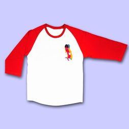 NUEZZZ KIDPUP G-Dog Raglan Long Sleeve T-Shirt